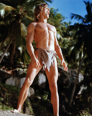 Miles O'Keeffe UNSIGNED photo - 6393 - Tarzan, the Ape Man