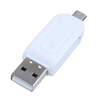 USB 2.0 + USB Micro OTG SD Card Reader for Tablet PC AD