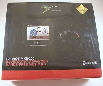 "Parrot MKI9200 V3 Bluetooth Hands Free Color Car Cell Phone kit w/ 2.4"" display"
