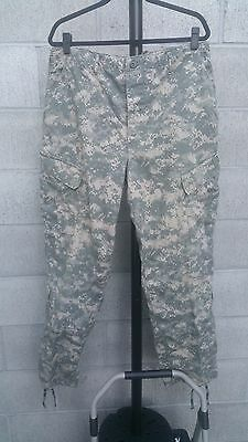 Trouser Army Combat Uniform Acu Large-Long Used $17.99 Free Shipping