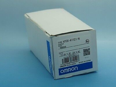Omron Counter H7CX-A11-N 12-24VDC 24VAC New In Box