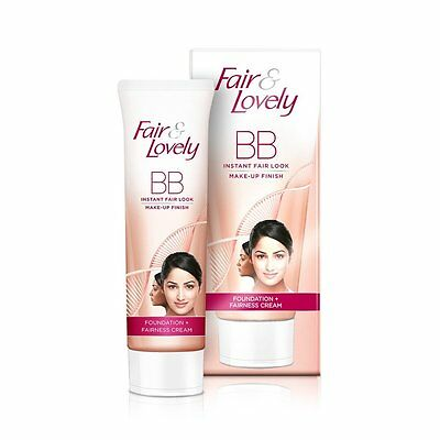 New Fair And Lovely BB Cream Foundation Fairness with Make-Up Finish 9g 18g