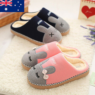 Winter soft cute warm bunny Indoor Anti-slip Slippers shoes for Men/Women