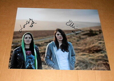Heathers *Here, Not There* (Irland), original signiertes Foto in 20x27 cm