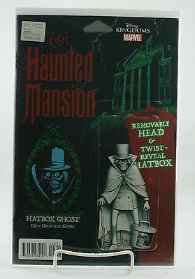 The Haunted Mansion #5! Action Figure Variant! Unread! Marvel! Disney! NM! 2016