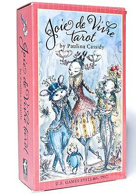 JOIE DE VIVRE Tarot Cards Deck Paulina Cassidy Beautiful Dreamy Ethereal Fantasy