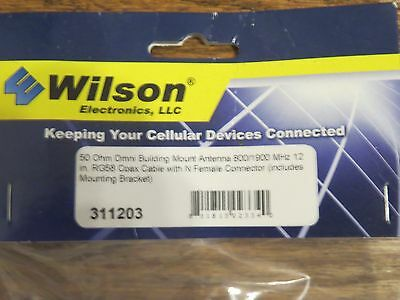 Wilson Electronics 311203 Omnidirectional 50ohm Building-Mount Antenna