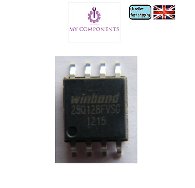 WINDBOND W25Q128FVSSIG 25Q128FVSG 25Q128 128M-BIT Spi-FLASH BIOS Chip ,Atlas 200