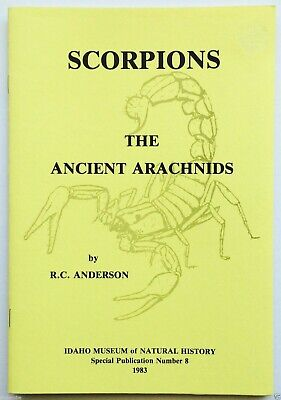 SCORPIONS/Scorpion ANCIENT ARACHNIDS!  Informative/INTERESTING 20pg Pamphlet
