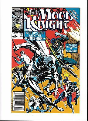 Marc Spector: Moon Knight #9 (Dec 1989, Marvel)