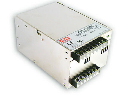 Mean Well PSP-600-24 AC/DC Power Supply Single-OUT 24V 25A 600W    US Authorized