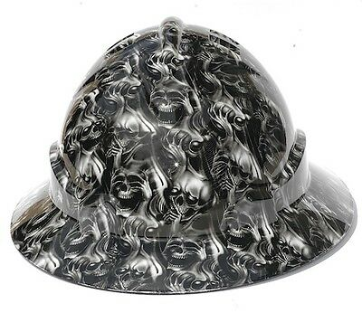 NEW Australian Customizied Wide Brim Hard Hats (Hydrographic Safety Hard Hat )