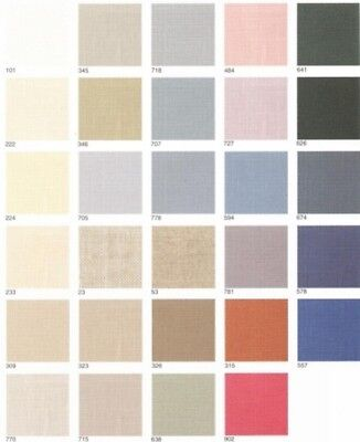 32 ct Belfast Linen by Zweigart- U Choose Color
