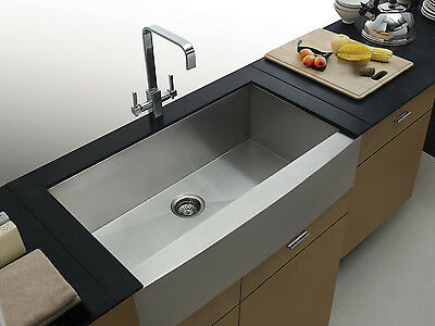 Quality Stainless Steel Apron Front Farmhouse Kitchen Sink