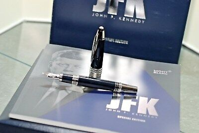 Montblanc Jfk  Fountain Pen New Nib Size M