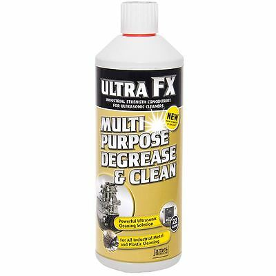 Ultra FX Multi Purpose Oil & Grease Remover Ultrasonic Cleaners Solution