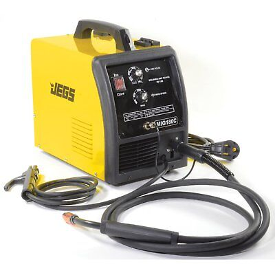 JEGS Performance Products 81541 MIG/MMA WELDER 180C