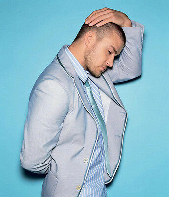 Justin Timberlake UNSIGNED photo - 7257  - HANDSOME!!!!!