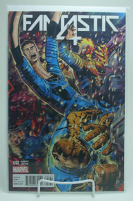 Fantastic Four #642! Micheal Golden Connecting Variant! 1st Printing! Unread!