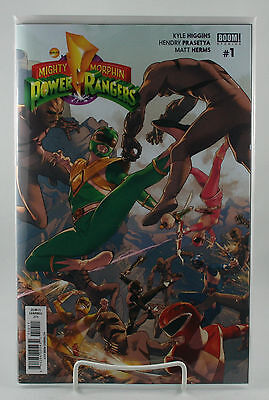 Mighty Morphin Power Rangers #1! Main Cover 1st Print! Unread! Boom! NM! 2016