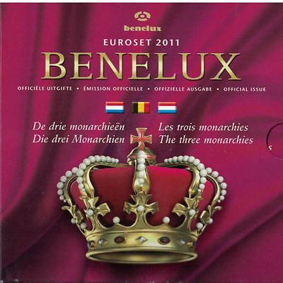 2011 Benelux 24-Coin Euro Uncirculated Set