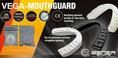 Vega Mouth Guard Mouth Piece Gum Shield for boxing muaythai rugby ice hockey