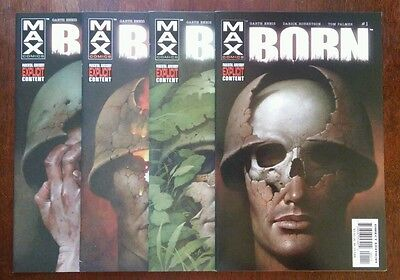 Born #1-4 (2003 Marvel) Punisher in Vietnam Ennis COMPLETE LOT/SET 9.8 9.6 NM+