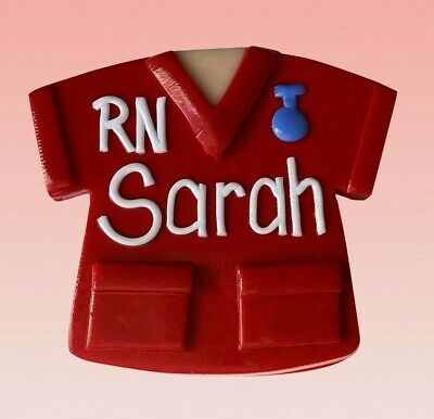 Scrubs A Name Badge - with your name (loved by nurses)