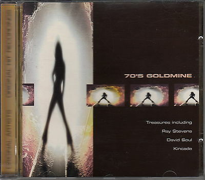 70's GOLDMINE - Various Artists - CD, ray stevens, david soul, kincade ..... B12