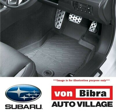 Brand New Genuine Subaru Forester Rubber Mat Set Front & Rear