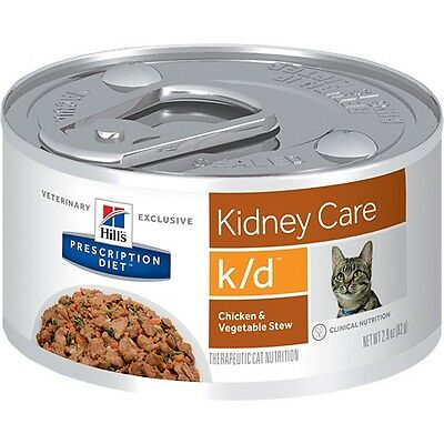 Hills Prescription Diet k/d Feline Kidney Care - Canned | FREE Shipping to se...