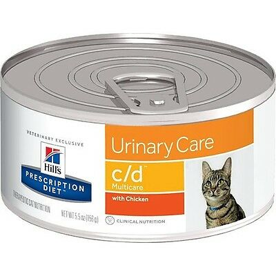 Hills Prescription Diet c/d Feline Urinary Care - Canned | FREE Shipping to s...