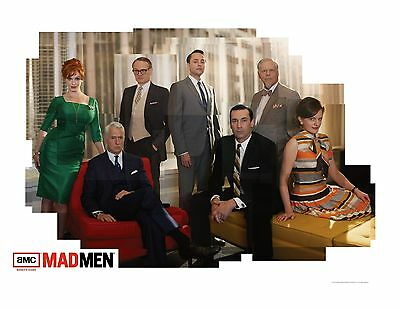 MAD MEN Season 5 POSTER 24 X 36 INCH AWESOME! CAST