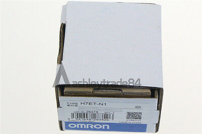 Omron Time Counter H7ET-N1 NEW