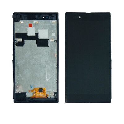 For Sony Xperia Z Ultra XL39H C6802 C6806 LCD Screen Digitizer Touch+Frame US A
