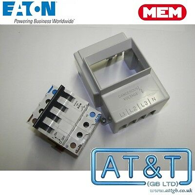 Eaton MEM BMS1001N4 Type B SPSN Switch Disconnector 100A NEW