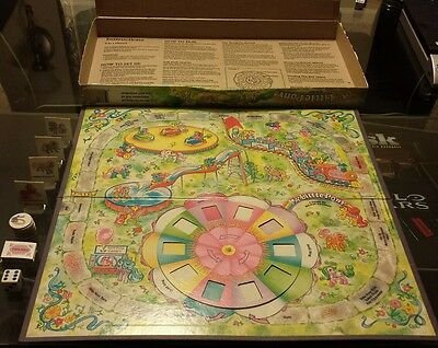 My Little Pony Merry Go Round Adventure Board Game COMPLETE 1988
