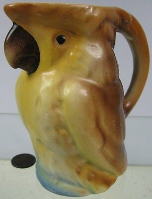 Antique Parrot Creamer Made in Czecho Slovakie