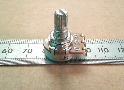 E Series Values Solder Lug Connection 17mm Linear Potentiometer, Mono Pot
