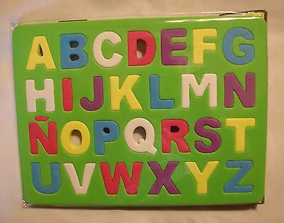 Foam Alphabet ABC Puzzle UPPERCASE/LARGE Letters Home School English NWT