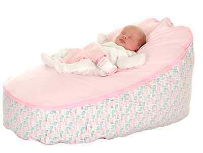Lilypod baby bean bag pink and blue bird