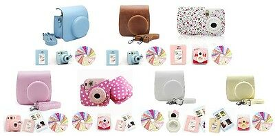 Gmatrix 4 in 1 Fujifilm Instax Mini 8 Case Bag Accessory Bundle Set Best Gift