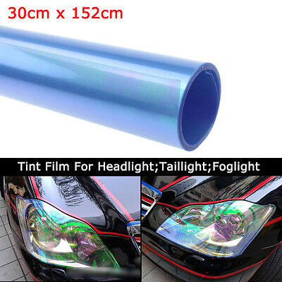 "12""x84""Chameleon Neo Clear Pearl Headlight Taillight Fog Light Vinyl Tint BP"