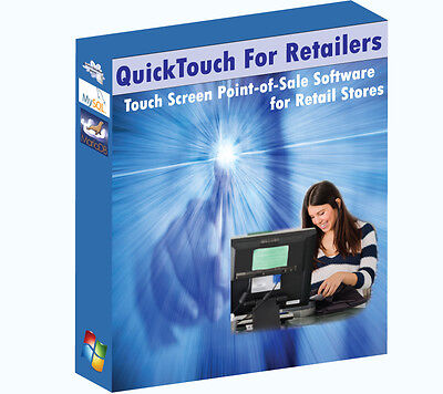 Touch Screen POS (Point of Sale) Software for Retail Stores
