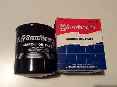 NEW OMC Johnson Evinrude Oil Filter Sterndrive Cobra Mercuiser GM 502902 54111