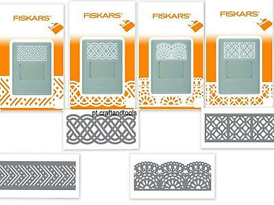 new 2014 Fiskars AdvantEdge Punch border   additional  cartridge dies