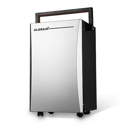AlorAir Dehumidifiers 16 L for Household, Office, Home High COP (color silver)