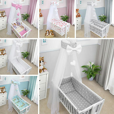 Baby Canopy Drape Mosquito Net With Holder To Fit Crib New Designs