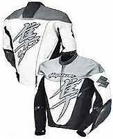 SUZUKI HAYABUSA Motorcycle Leather Jacket Motorbike Racing Leather Jacket XS-4XL