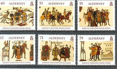 Alderney-Bayeux Tapestry set of 6 mnh new issue May 2014